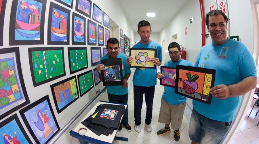 Pestalozzi Sumaré – Centro Dia – Oficina de Artes